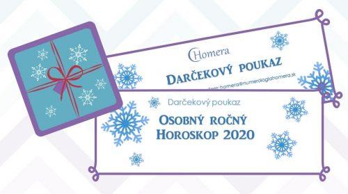 darcekova poukaz na osobny horoskop